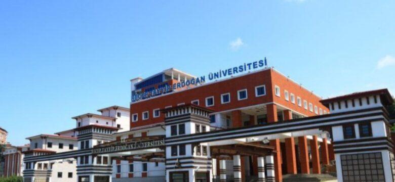 Recep Tayyip Erdoğan Üniversitesi sözleşmeli personel alacak