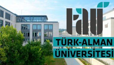 Türk-Alman Üniversitesi 19 İşçi Alacak
